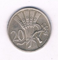 20 HALLER  1921  TSJECHOSLOWAKIJE /3922/ - Czechoslovakia