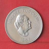 TONGA 10 SENITI 1967 -    KM# 7 - (Nº35580) - Tonga