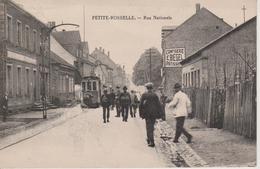 57 - PETITE ROSSELLE - RUE NATIONALE - TRAMWAY - Autres Communes