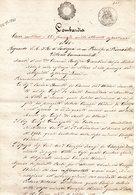 CG - Atto D'acquisto Su Carta Bollata Di Beni In Comune Di Cerano Stipulato A Milano Il 22/1/1861 - Manuscritos