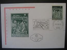 Österreich- Oberndorf 29.11.1968 FDC Maschinen-Werbestempel - 1961-70 Cartas