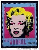 """FR YT 3628 """" Marilyn, Andy Warhol """" 2003 Neuf** - France"""