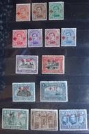 BELGIE 1918    Nr. 150 - 163   Rode Kruis   Scharnier *  Zie Foto's   CW  1500,00 - 1918 Cruz Roja