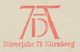 Meter Cut Germany 1971 Albrecht Durer Year - Painter - Nurnberg - Arts