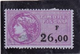 T.F.S.U N°451 - Revenue Stamps