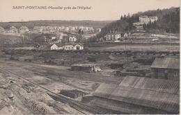 57 - SAINTE FONTAINE PAR L'HOPITAL - VUE DE RAILS - Autres Communes