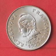 FRENCH POLYNESIA 10 FRANCS 1975 -    KM# 8 - (Nº35601) - Polynésie Française