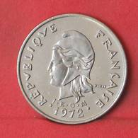 NEW CALDONIA 10 FRANCS 1972 -    KM# 11 - (Nº35602) - Nueva Caledonia