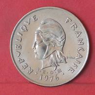 NEW CALDONIA 100 FRANCS 1976 -    KM# 15 - (Nº35605) - Nueva Caledonia