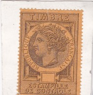 T.F.de Connaissements N°15A - Revenue Stamps