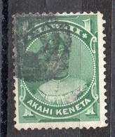 HAWAI - 1883 - AKAHI KENETA - QUEEN - REINE - 1 - Oblitéré - Used - - Hawaii