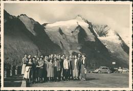 Zell Am See Großglockner Region Reisegruppe, Gruppenfoto, VW Käfer 1955 - Non Classificati