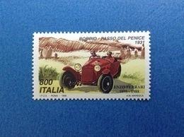 1998 ITALIA FRANCOBOLLO NUOVO ITALY STAMP NEW MNH** AUTO FERRARI BOBBIO PASSO DEL PENICE 1931 - 6. 1946-.. Repubblica