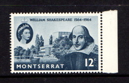 MONTSERRAT    1964    Birth  Anniv  Of  Shakespere         MNH - Montserrat
