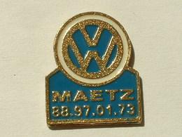 PIN'S VOLKSWAGEN - MAETZ - Volkswagen