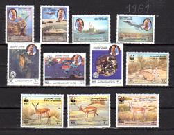 Bahrain 1993, Défense De L'Emirat, Météo, WWF Les Gazelles, 469 / 475 – 489 / 492**, Cote 23,50 €, - Bahrain (1965-...)