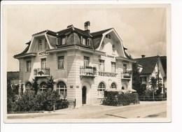 Carte ( Format 15 X 10,5 Cm ) De L' Hôtel Bahnhof Uznach Bes. Frau Fäh ( Recto Verso ) - SG St. Gall