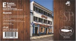 Portugal 2020 Açores Autoadesivos Centenary Of Peter Café Sport - Doorway Architecture  Food - Music