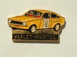 PIN'S OPEL KADETTE - VARLET / MARTEL - Rallye