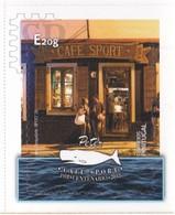 Portugal 2020 Açores Autoadesivos Centenary Of Peter Café Sport - Doorway Architecture  Food - Architecture