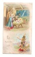 Image Religieuse La Nativité - Visite à L'enfant Jésus Dans La Crèche De 1906 - Devotion Images
