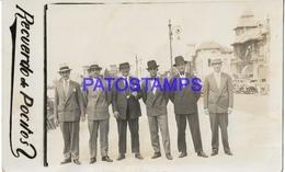 133816 URUGUAY MONTEVIDEO LOS POCITOS COSTUMES MAN'S POSTAL POSTCARD - Uruguay