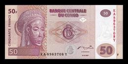 Congo 50 Francs 2007 Pick 97 SC UNC - Congo