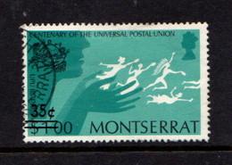 MONTSERRAT    1974    35c  On  $1  Blue  Green  And  Black    USED - Montserrat