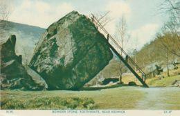 Postcard - Bowder Stone, Rosthwaite, Near Keswick - Card No. Lk37 Unused Very Good - Cartes Postales