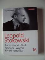 2 DVD   Leopold STOKOWSKI  (Die Großen Dirigenten )  {Bach - Händel - Bizet - Smetana- Wagner ....} - Concert Et Musique