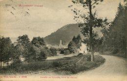 CPA - ALLARMONT - ENTREE DU VILLAGE, COTE DE CELLES - France