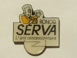 PIN'S OPEL SERVA RONCQ - Renault
