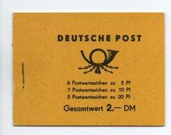 - ALLEMAGNE ORIENTALE / DDR - Yvert Carnet N° 149 Neuf ** (Michel MH1) - Cote 130 EUR - - [6] Oost-Duitsland
