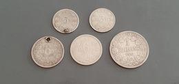 """Lot  Monnaies   South Africa   Johannes Paulus Kruger  Argent """" Voir Description """" - Sud Africa"""
