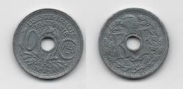 + FRANCE  + 10 CENTIMES  1945 B+ - D. 10 Centimes