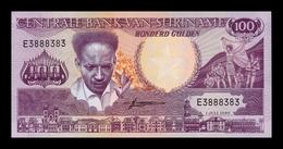 Surinam Suriname 100 Gulden 1986 Pick 133a SC UNC - Surinam