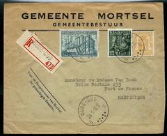 Doc. De OUDE - GOD  - B B -  Du 24/01/49  En Rec. ; Pour Fort De France (Martinique) 01/02/49 - 1948 Export