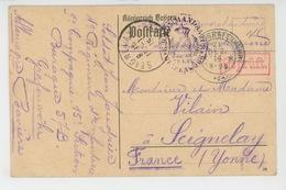 ALLEMAGNE - GUERRE 1914-18 - Carte De Correspondance Du Camp De Prisonniers De GRAFENWOEHR  - Kriegsgefangenenlager - Grafenwoehr