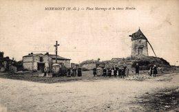 16855      MIREMONT    LA PLACE MARENGO ET LE VIEUX MOULIN - France