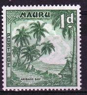 Nauru Single One Penny Stamp From 1954 Definitive Set. - Nauru