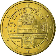 Autriche, 50 Euro Cent, 2007, SPL, Laiton, KM:3087 - Autriche