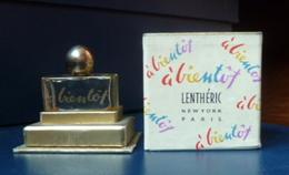 Miniature De Parfum  - A Bientôt De Lenthéric (vide) - Vintage Miniatures (until 1960)