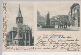 (77887) AK Gruß Aus Hagenau, Haguenau, Elsass, Alsace, Paradeplatz 1898 - Elsass