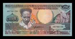 Surinam Suriname 250 Gulden 1988 Pick 134 SC UNC - Suriname