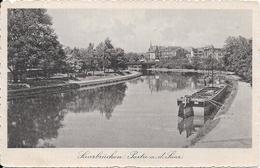 Saarbrücken Partie A.d.Saar  -  (thème Canal - Péniche) - Saarbruecken