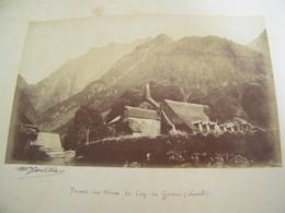 ATTENTION Photo Originale Dédicacée Maurice Gourdon - Le Cap Guerry (66) - Bocard Des Mines - 1884 - SUP - (Ph 63) - Other Municipalities