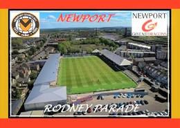 CP. STADE. NEWPORT  PAYS  DE GALLES   RODNEY  PARADE   # DM. 010 - Football