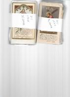PRT N/  2 X 150  OUDE    DEVOTIEPRENTES :  LEVEN VAN CHRISTUS      ( Beëindigen Van Mijn Verzamelen) - Images Religieuses