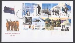 AUSTRALIE AAT 2001 FDC Centenaire 1901-2001 De L'Australie En Antarctique (a) - FDC