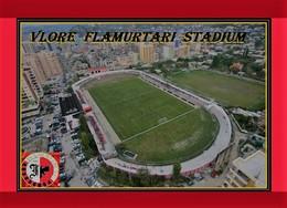 CP. STADE. VLORE   ALBANIE   FLAMURTARI  STADIUM   # DM. 011 - Football
